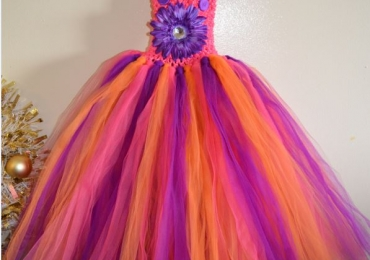 Dora The Explorer Inspired Tutu Dress